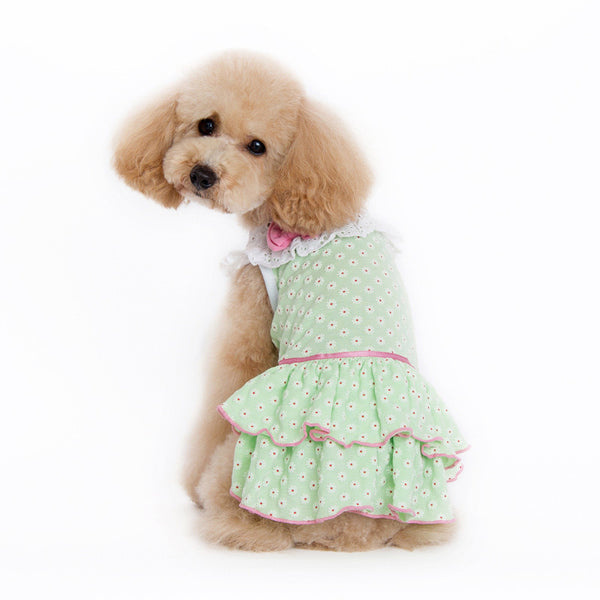 LITTLE FLOWER DOG DRESS, Dress - Bones Bizzness