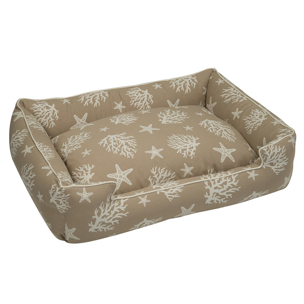 COVE SAND LOUNGE DOG BED, Beds - Bones Bizzness
