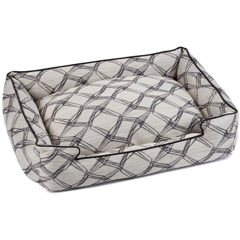 CROSBY LATTE LOUNGE DOG BED, Beds - Bones Bizzness