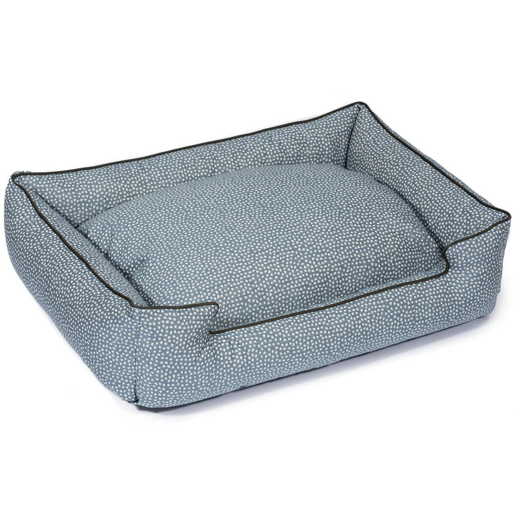 FLICKER CORNFLOWER LOUNGE DOG BED, Beds - Bones Bizzness