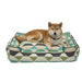 ORIGAMI PEAR LOUNGE DOG BED, Beds - Bones Bizzness