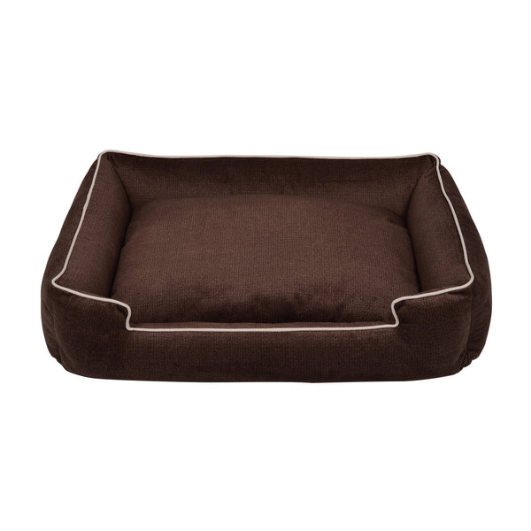 BRONZE LOUNGE DOG BED, Beds - Bones Bizzness