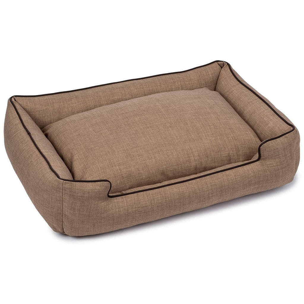 CALLEN TRUFFLE LOUNGE DOG BED, Beds - Bones Bizzness