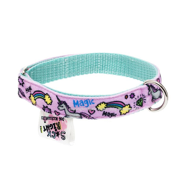 MAGIC PONY TEXTILE DOG COLLAR
