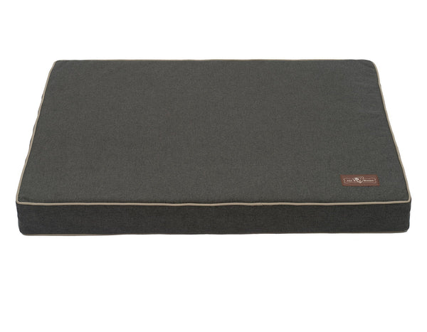 LICORICE MEMORY FOAM PILLOW DOG BED