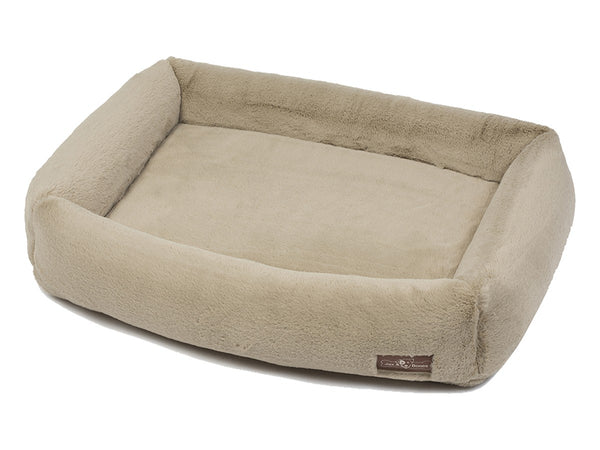 MINK CREAM MEMORY FOAM CUDDLER BED, Beds - Bones Bizzness