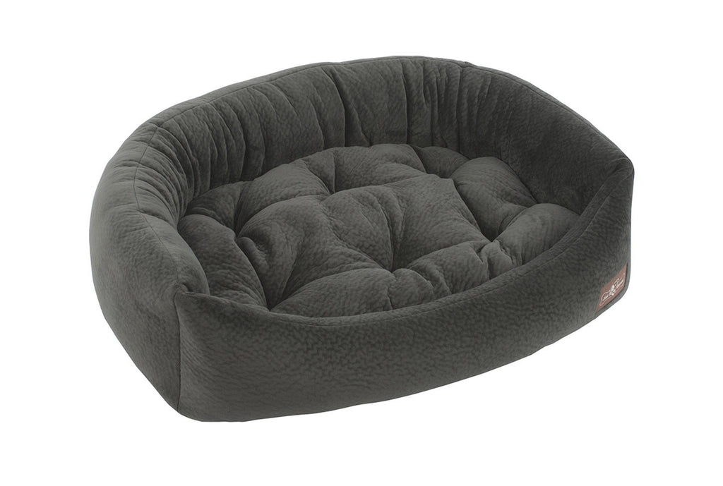 GRANITE PLUSH NAPPER DOG BED, Beds - Bones Bizzness