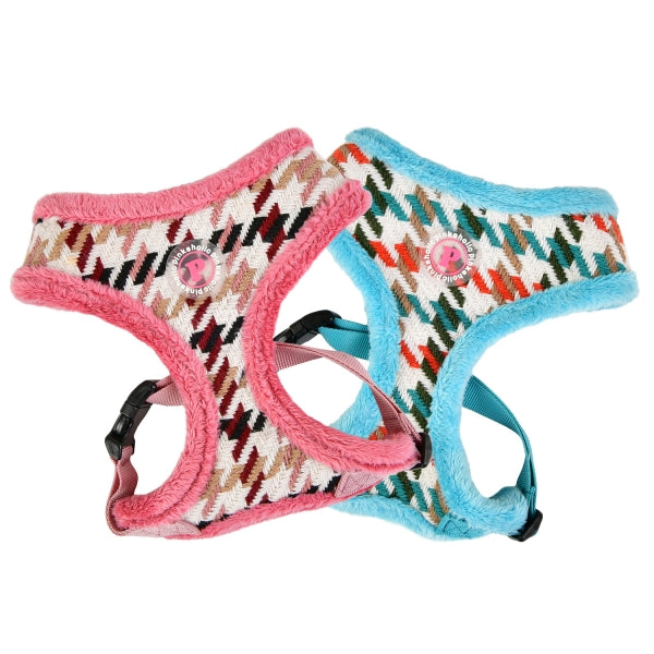 ZUZU HARNESS - INDIAN PINK / AQUA