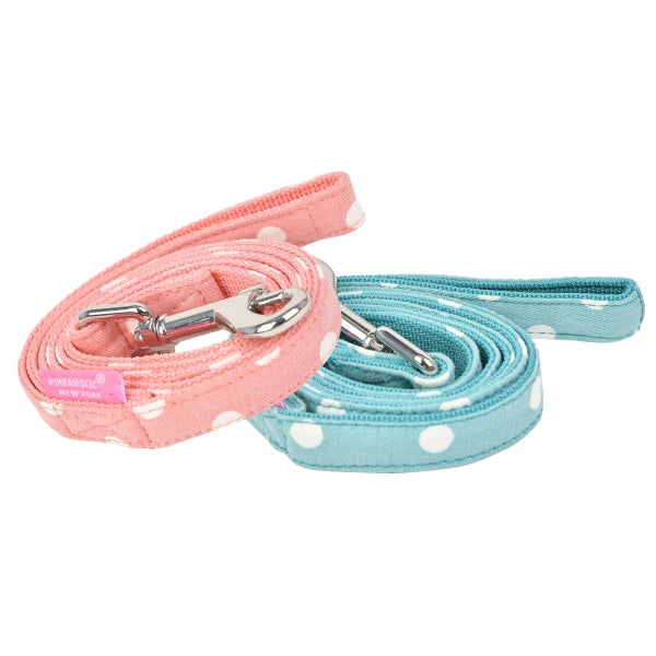 IDA DOG LEAD -INDIAN PINK / MINT