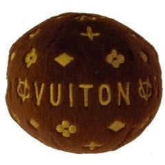 CHEWY VUITON BALL DOG TOY, Toys - Bones Bizzness