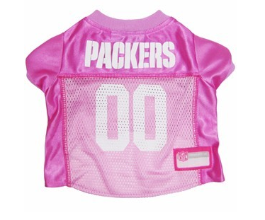 GREEN BAY PACKERS DOG JERSEY – PINK, NFL Jerseys - Bones Bizzness
