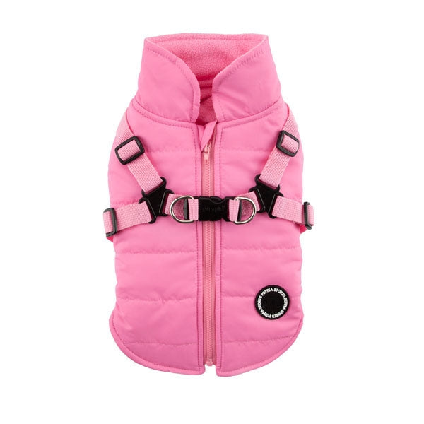PINK MOUNTAINEER II DOG COAT, Coats - Bones Bizzness