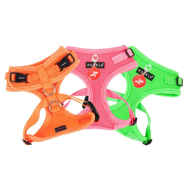 PUPPIA NEON SOFT HARNESS II, Harness - Bones Bizzness