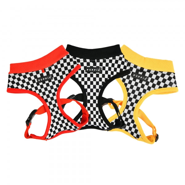 RACER DOG HARNESS A -RED / BLACK / YELLOW