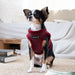 PUPPYTOOTH DOG HARNESS B -WINE / BLACK