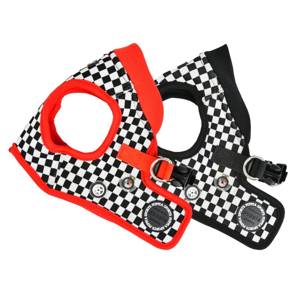 RACER DOG HARNESS B - (RED / BLACK)