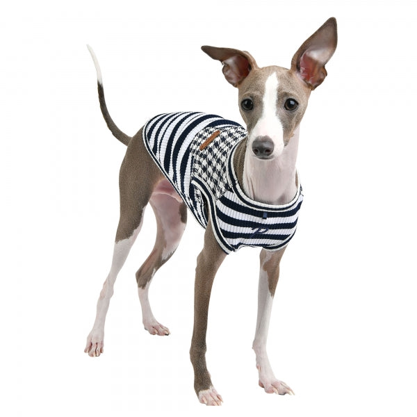 WINONA DOG SHIRT - NAVY