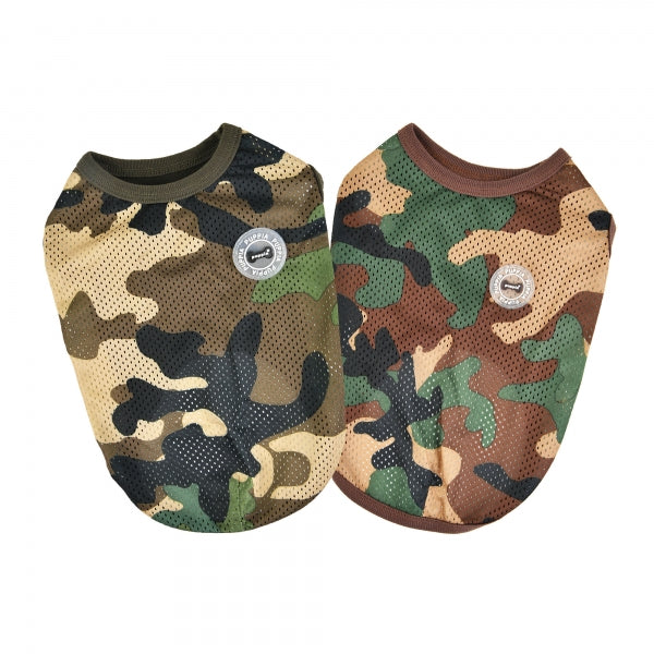 INFANTRY DOG SHIRT - CAMO / BROWN CAMO