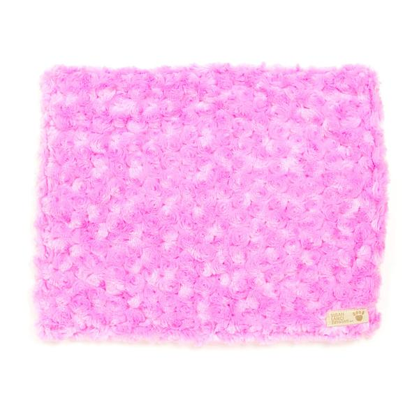 PERFECT PINK CURLY SUE BLANKET DOG BLANKET, Blankets - Bones Bizzness