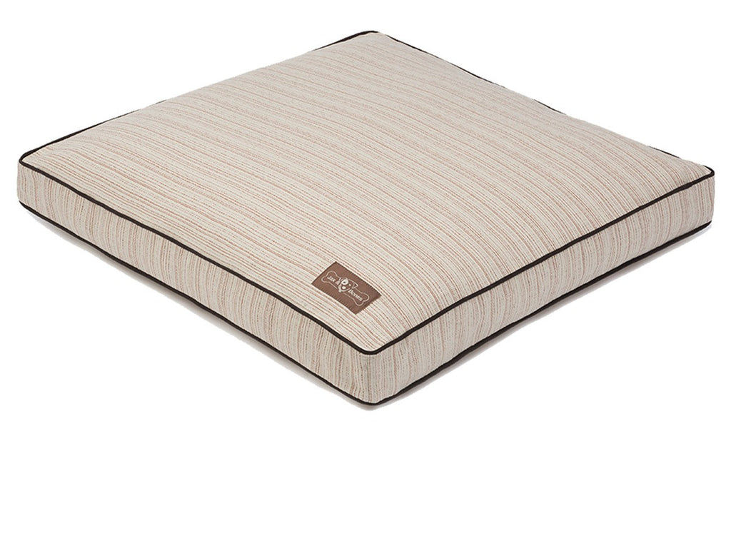 RECTANGULAR DOMINGO SPICE PILLOW DOG BED, Beds - Bones Bizzness