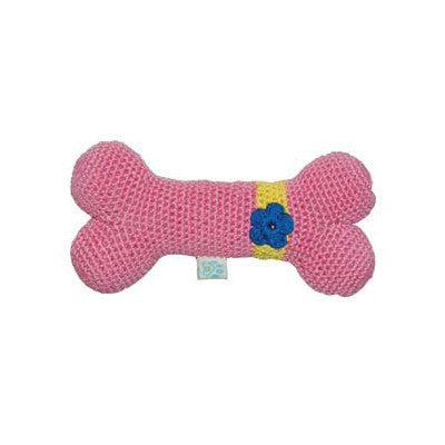 COTTON FLOWER BONE DOG TOY, Toys - Bones Bizzness