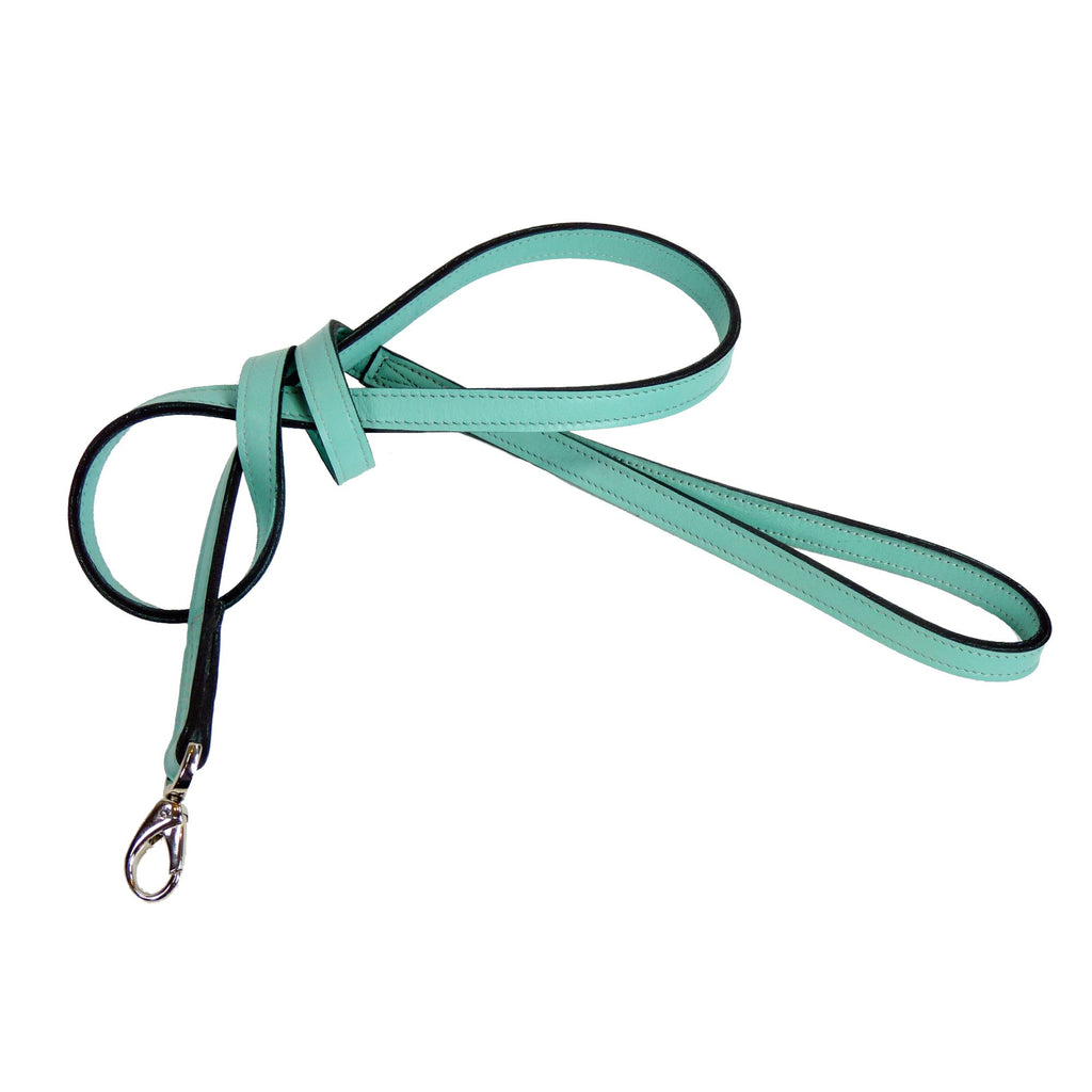 MAYFAIR DOG LEAD IN TURQUOISE, Leash - Bones Bizzness