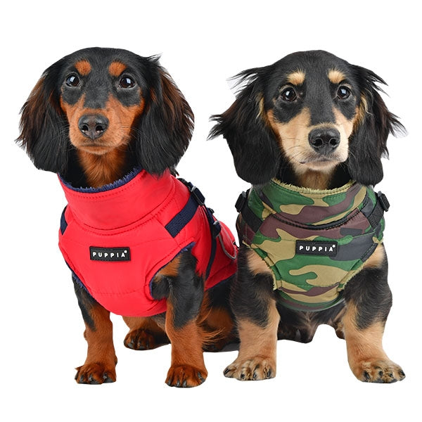 PIONEER PUPPIA FLEECE DOG VEST w/ HARNESS, VESTS - Bones Bizzness