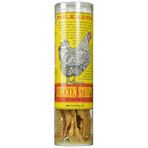 POLKA DOG BAKERY CHICKEN STRIPS, Treats - Bones Bizzness