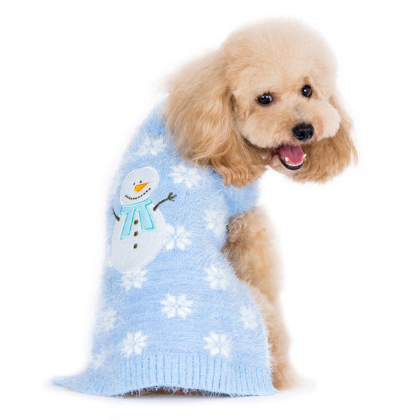 PP SNOWMAN DOG SWEATER