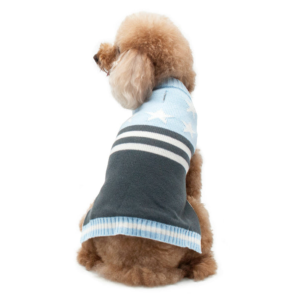 STAR & STRIPES PP DOG SWEATER