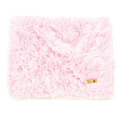 SHAG DOG BLANKET PINK