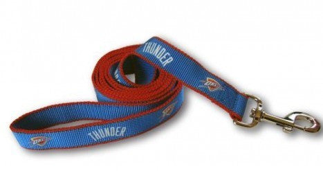 OKLAHOMA CITY THUNDER DOG LEASH – REFLECTIVE, NBA - Bones Bizzness