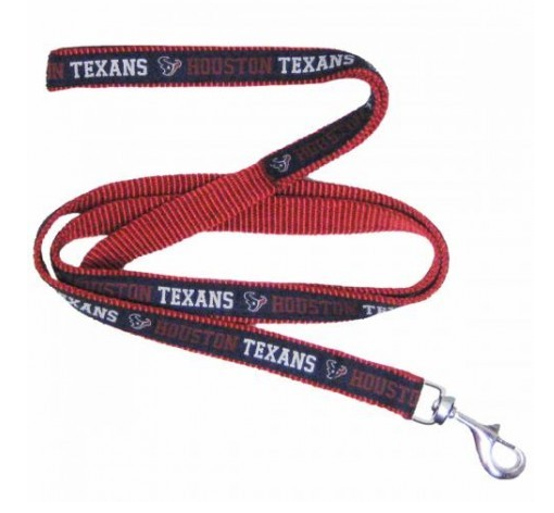 HOUSTON TEXANS DOG LEASH – RIBBON