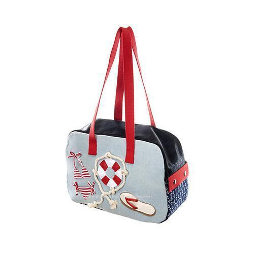 RED THONG SLIPPER DOG CARRIER