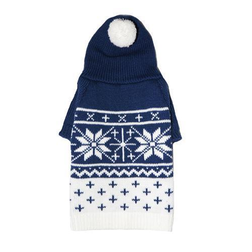 REESE DOG SWEATER - BLUE