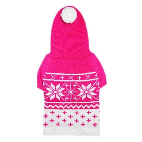 REESE DOG SWEATER - PINK