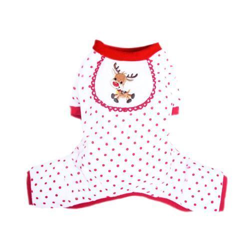 REINDEER DOG PAJAMAS