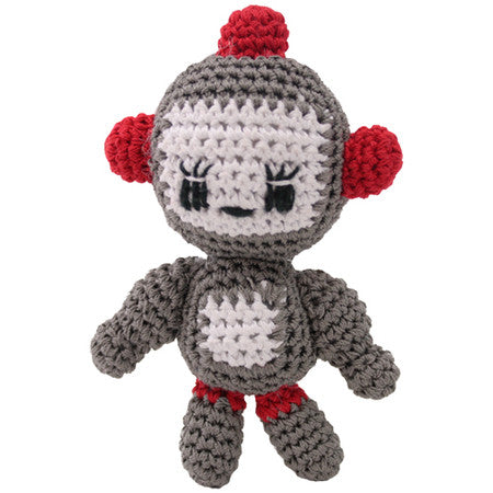 ROBOT CROCHET DOG TOY, Toys - Bones Bizzness