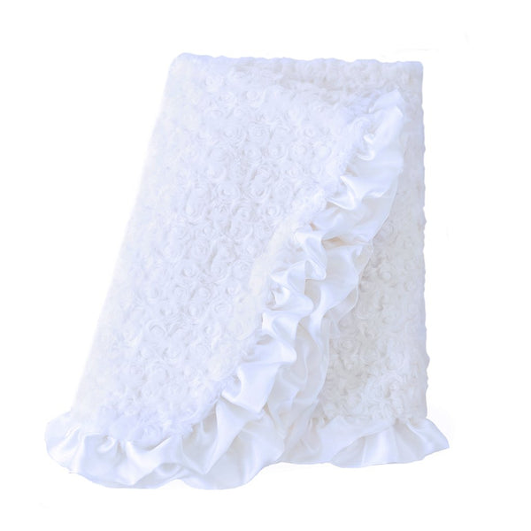 HEAVEN RUFFLE DOG BLANKET