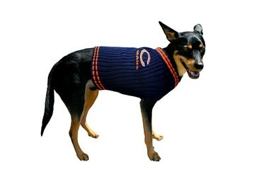 36317a1c268 ... CHICAGO BEARS DOG SWEATER