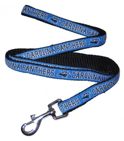 CAROLINA PANTHERS DOG LEASH – RIBBON, NFL Leashes - Bones Bizzness