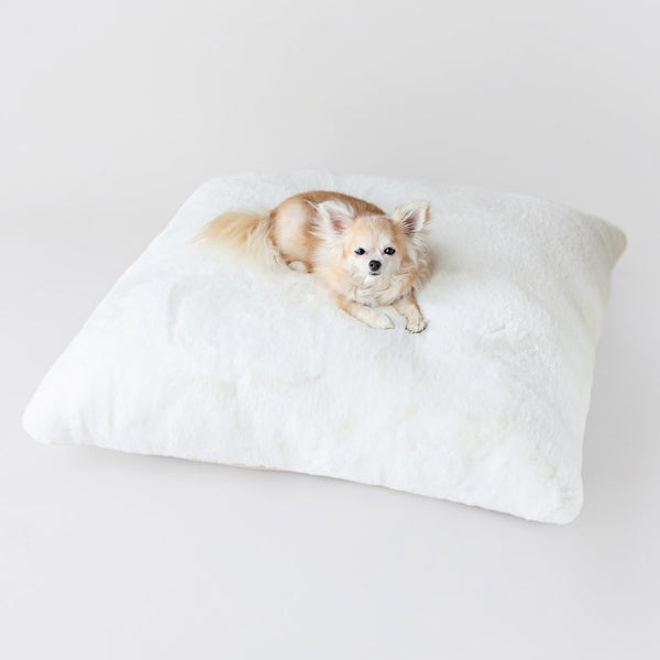 SERENITY DOG BED - WHITE, Beds - Bones Bizzness