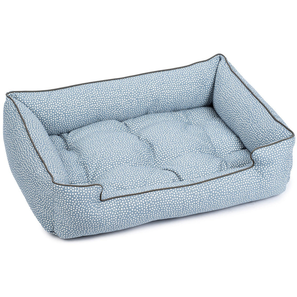 FLICKER CORNFLOWER SLEEPER DOG BED, Beds - Bones Bizzness