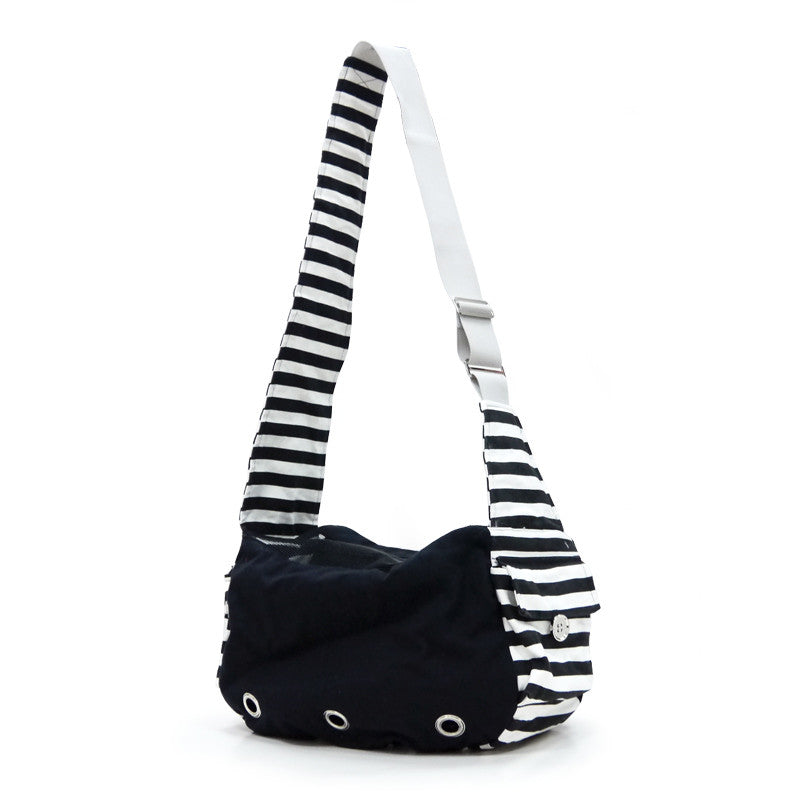 SOFT SLING BAG BLACK DOG CARRIER, Carriers - Bones Bizzness