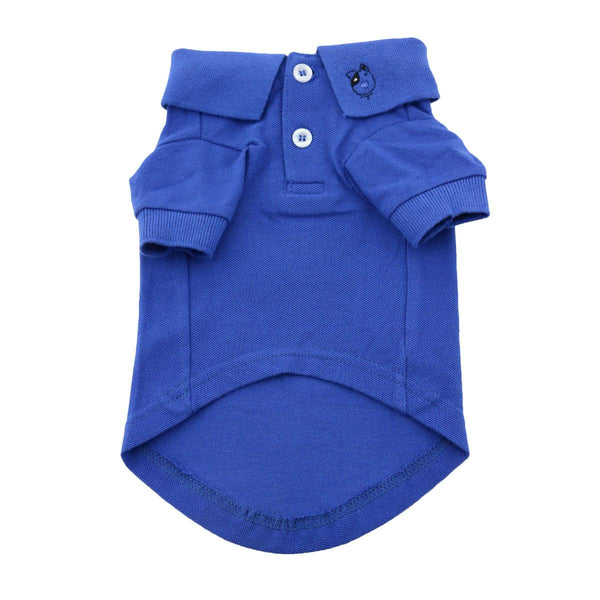 BLUE POLO DOG SHIRT, Shirts Tanks & Tees - Bones Bizzness