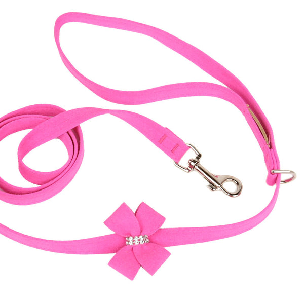 NOUVEAU BOW ULTRASUEDE DOG LEASH (42  COLORS), Leash - Bones Bizzness