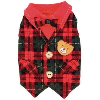 LIL TEDDY DOG VEST, VESTS - Bones Bizzness