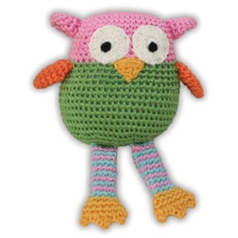 WISE GUY OWL DOG TOY, Toys - Bones Bizzness