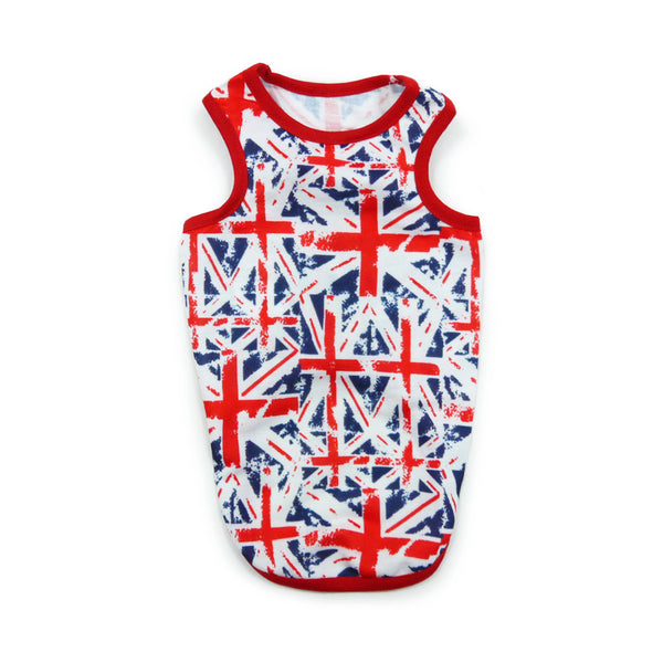 UNION JACK DOG TEE, Shirts Tanks & Tees - Bones Bizzness