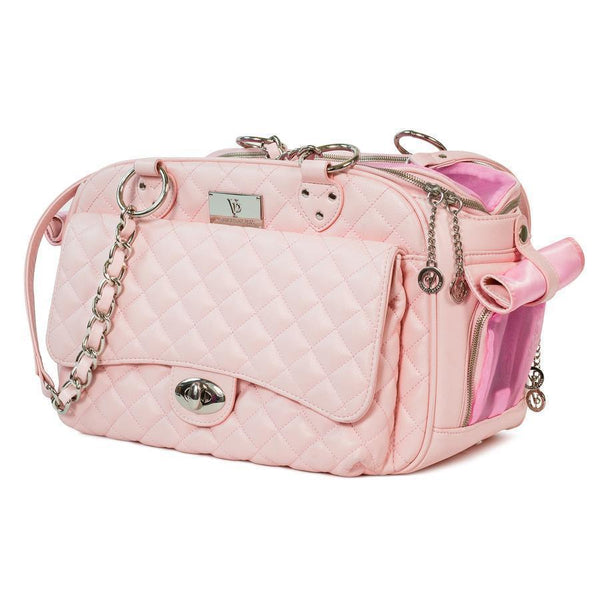 VANDERPUMP QUILTED CLASSIC LUXURY CARRIER - PINK